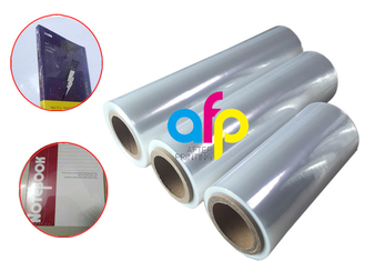 Center Folded POF Film Shrink Heat Wound Single for Bao bì Lõi giấy 3 inch